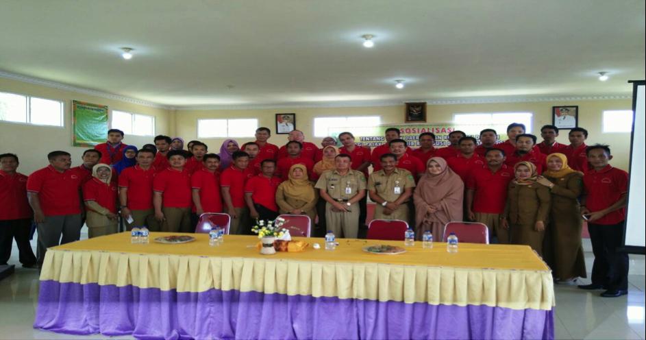 Sosialisasi Pajak Daerah dan Retribusi Daerah di Kecamatan Peranap