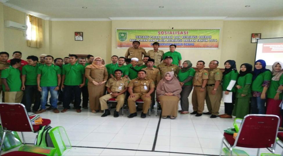 Sosialisasi Pajak Daerah dan Retribusi Daerah di Kecamatan Pasir Penyu